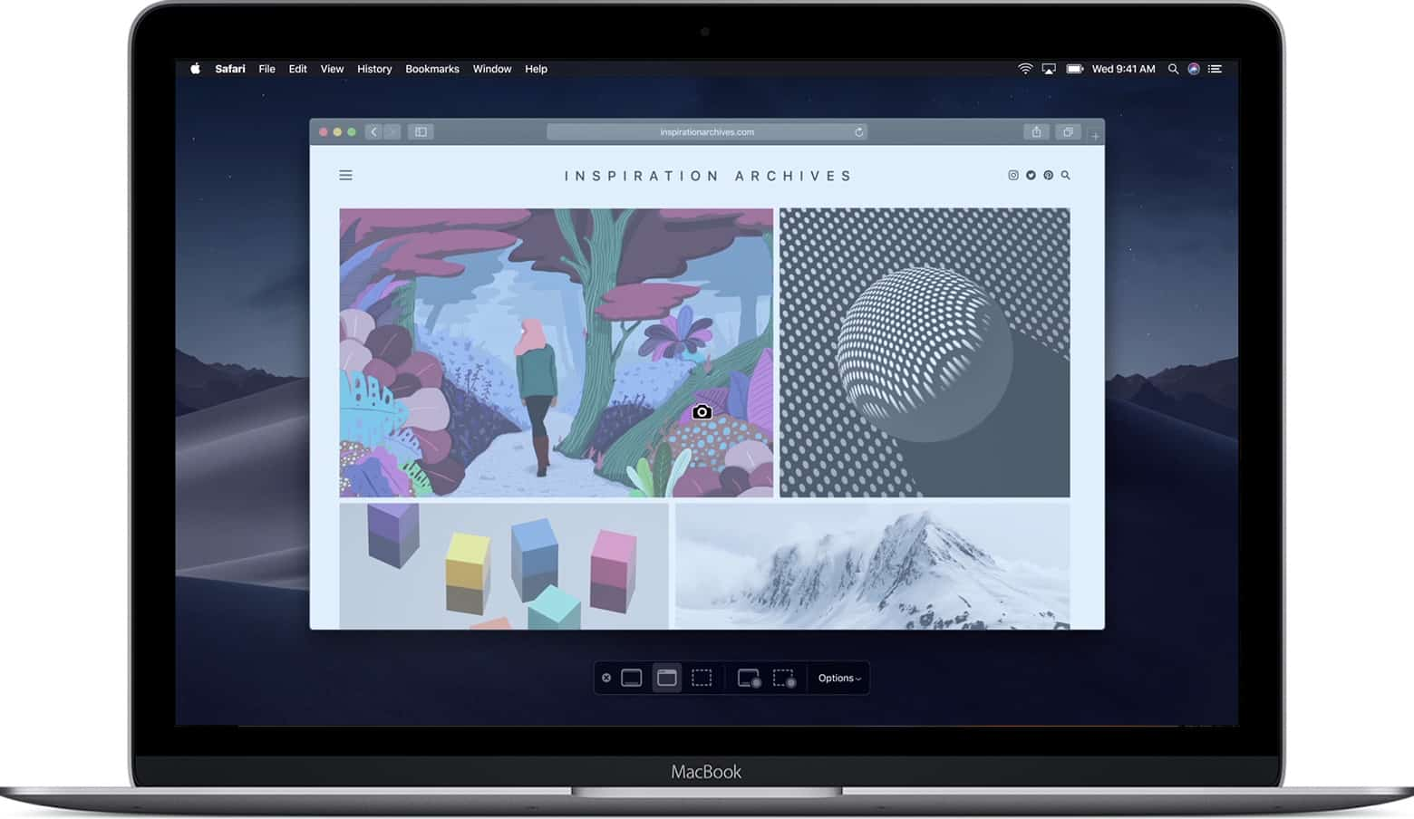 Cách chụp màn hình trên Mac