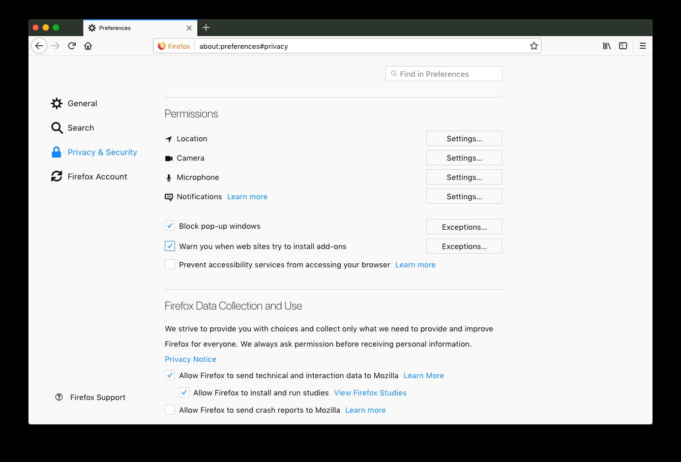 Firefox Macbook bị chậm