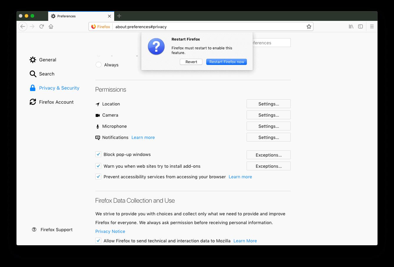 Firefox Macbook