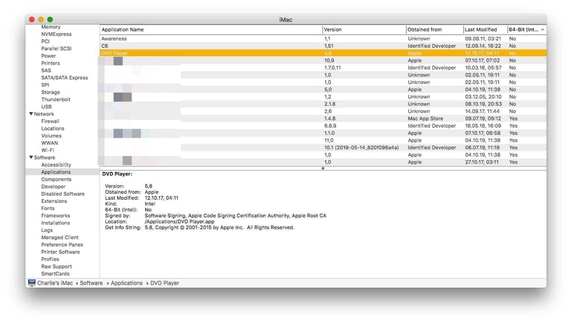 Kiểm tra app là 32 bit hay 64 bit trên macOS