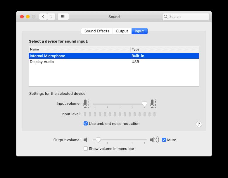 Sửa lỗi Microphone của Macbook