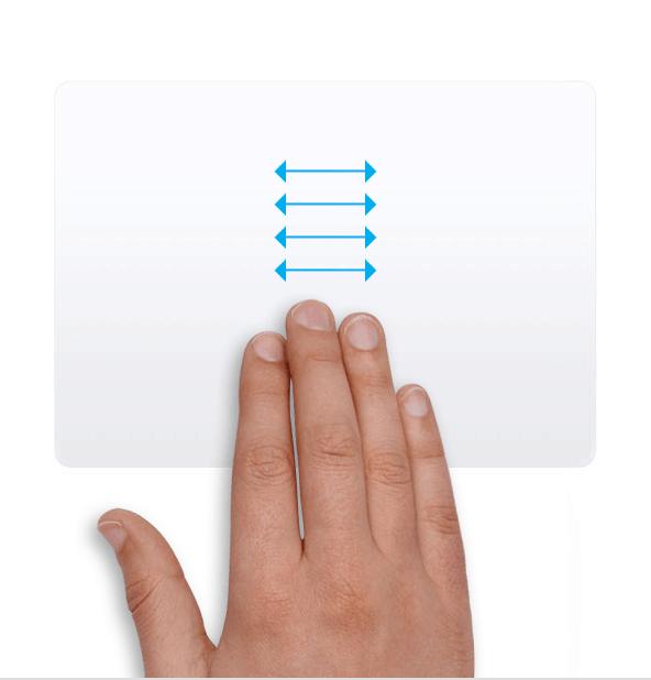 Trackpad - Đổi nhanh giữa 2 app full screen