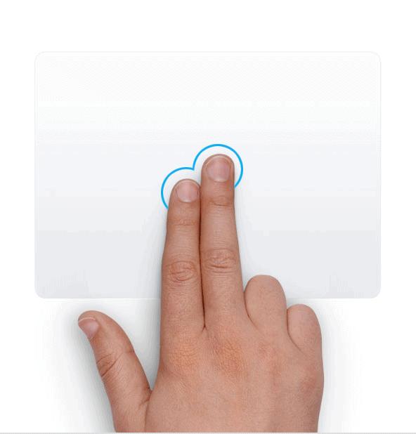 Trackpad - Click chuột phải