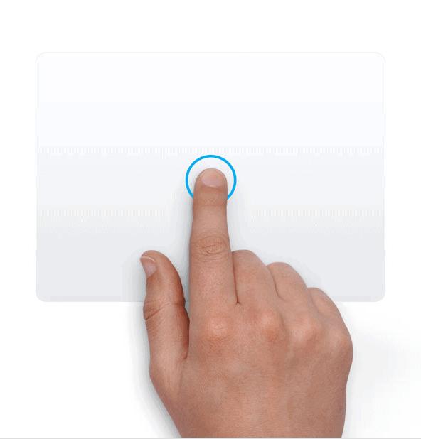 Trackpad - Click chuột