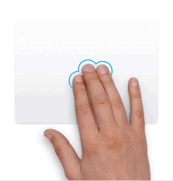 Trackpad - Lock up - Chạm 3 ngón tay