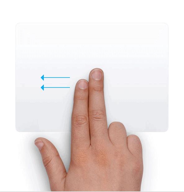 Trackpad - Mở thanh thông báo